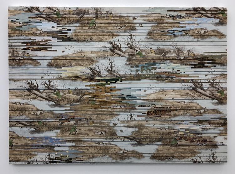 'Landscape (Marshland)', 2018, ett konstverk av Elisabeth Westerlund