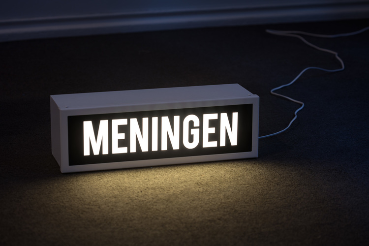 'Meningen', 2015, ett konstverk av Ulrika Sparre