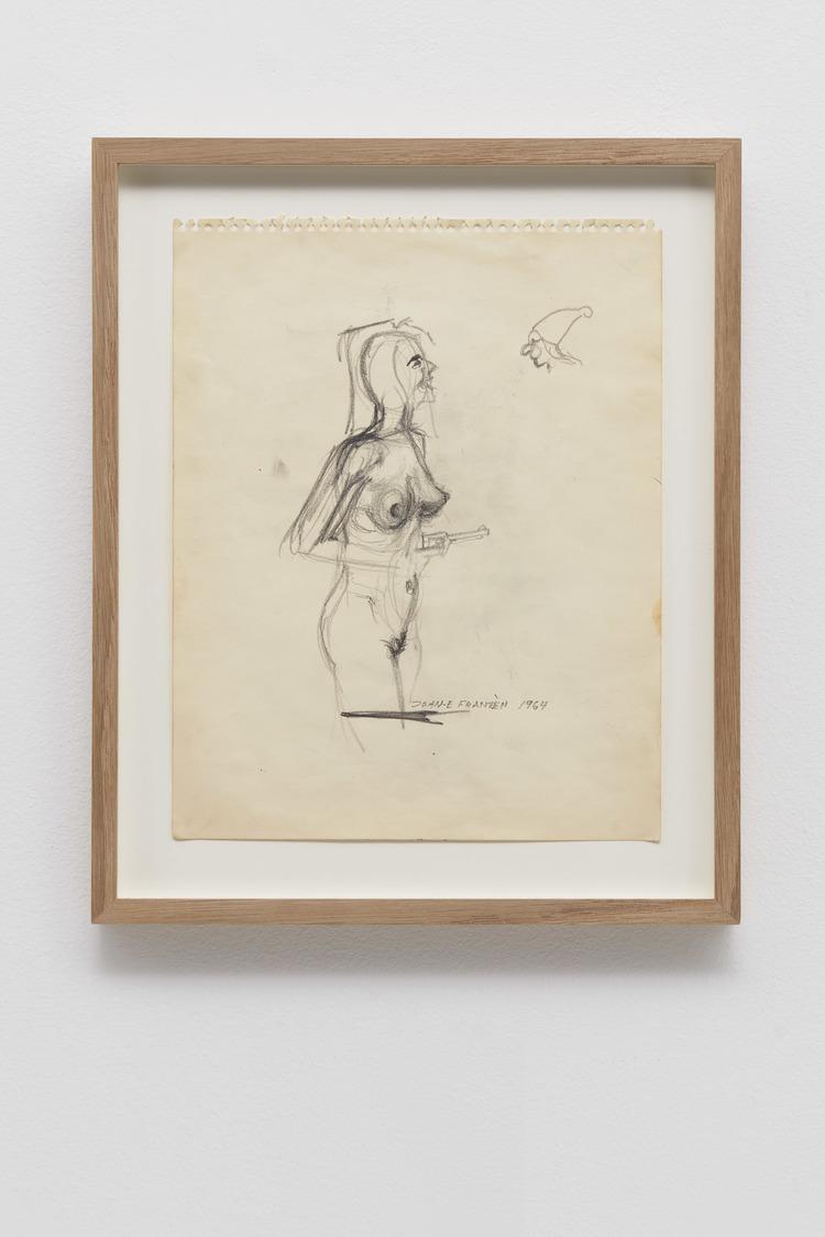 'Texax Rose', 1964, ett konstverk av John E Franzén