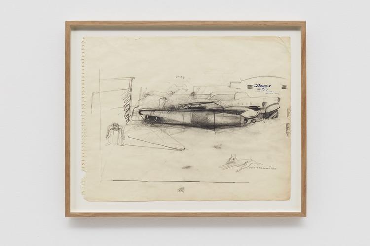 'Doug´s Place', 1964, ett konstverk av John E Franzén