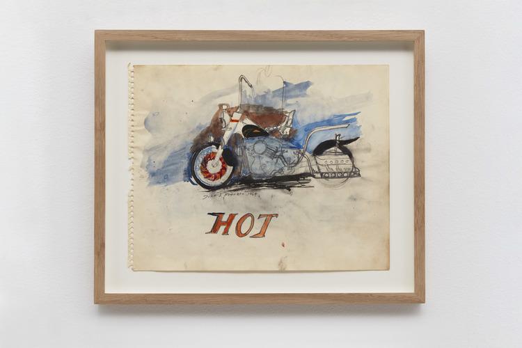 'HOT', 1964, ett konstverk av John E Franzén