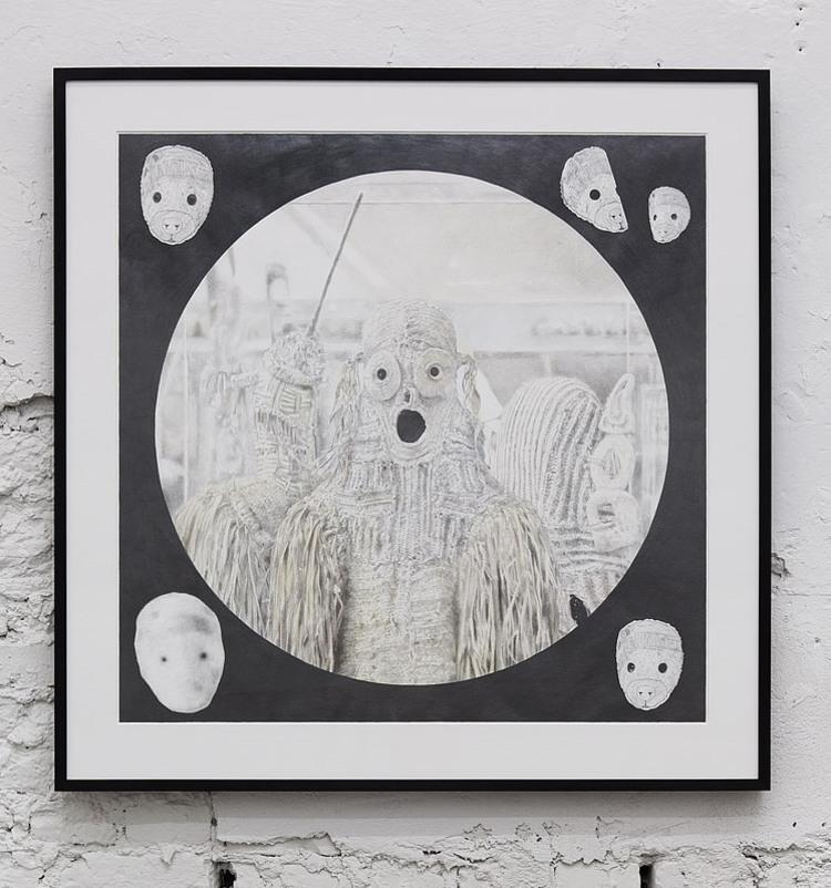 'Year of the Leopard', 2012, ett konstverk av Fredrik Hofwander
