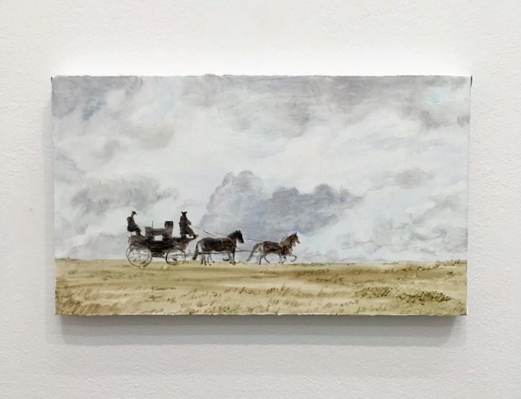 'Elopement', 2018, ett konstverk av Sofie Proos
