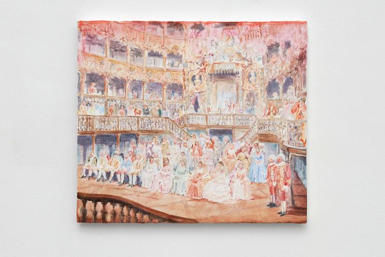 'Crowd pleaser', 2017, ett konstverk av Sofie Proos