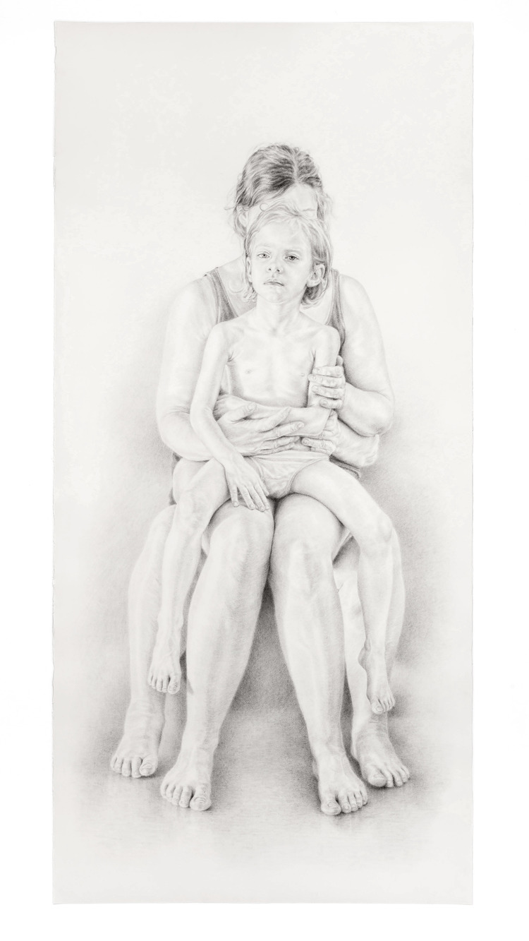 'Twine III', 2018, ett konstverk av Filippa Barkman