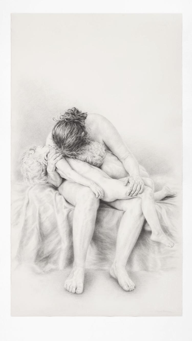 'Twine I', 2018, ett konstverk av Filippa Barkman