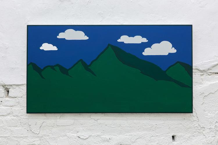 'Landscape', 2015, ett konstverk av Ofer Wolberger