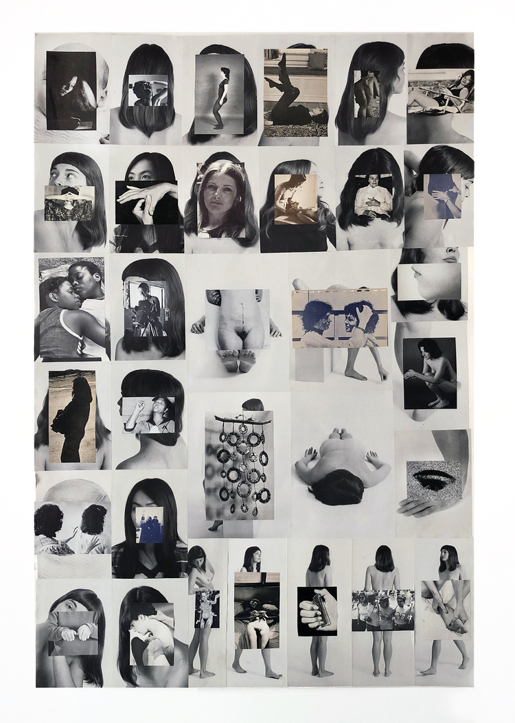 'Body/Index', 2018, ett konstverk av Carmen Winant