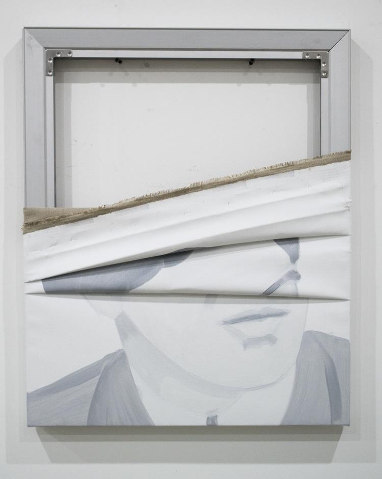 'Ahmad', 2018, ett konstverk av Jwan Yosef