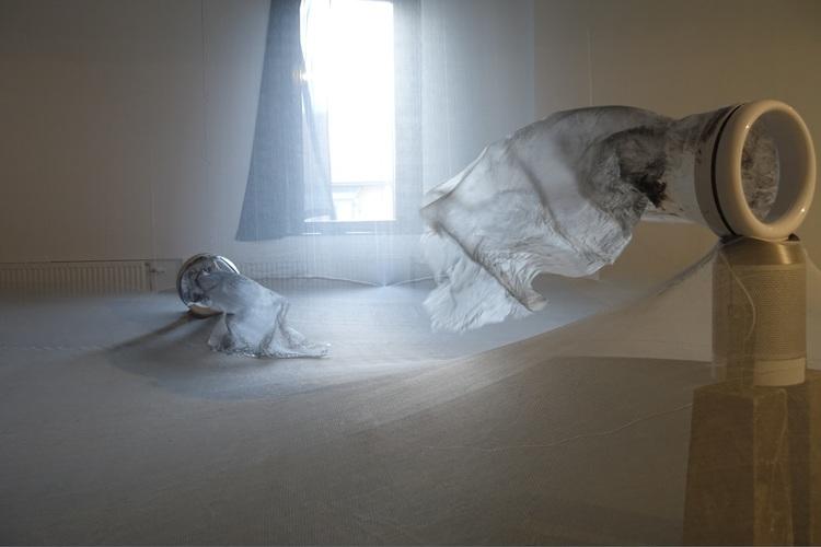 'Tystnaden', 2018, ett konstverk av Katja Pettersson
