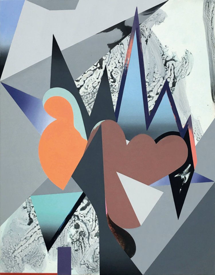 'Jabberwocky', 2018, ett konstverk av Jessica Buhlmann