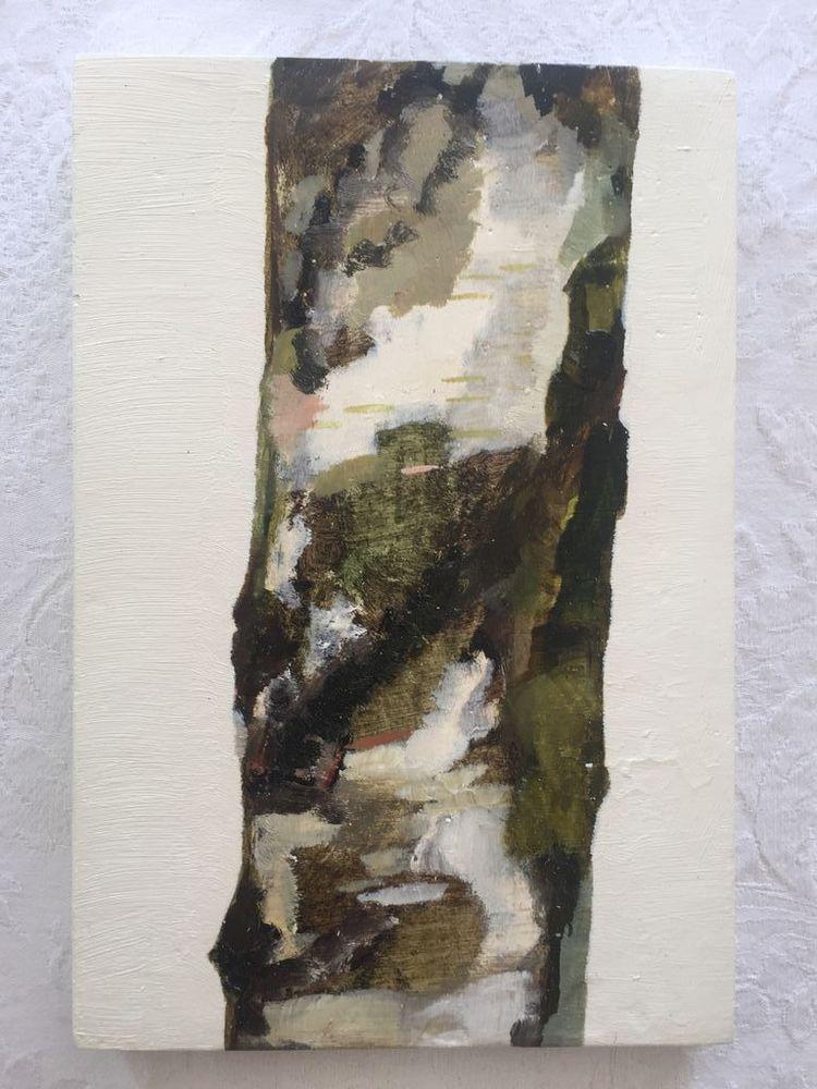 'Vanlig björk', 1996, ett konstverk av Line Bergseth