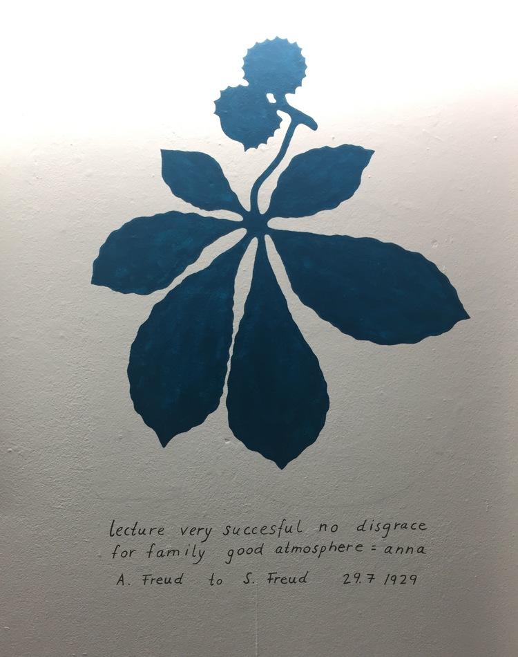 'U S tree (telegram) after Josef Frank', 2017, ett konstverk av Maria Finn