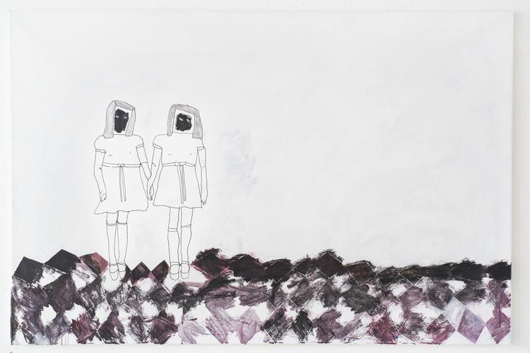 'Sleep tight', 2017, ett konstverk av Emilia Ilke
