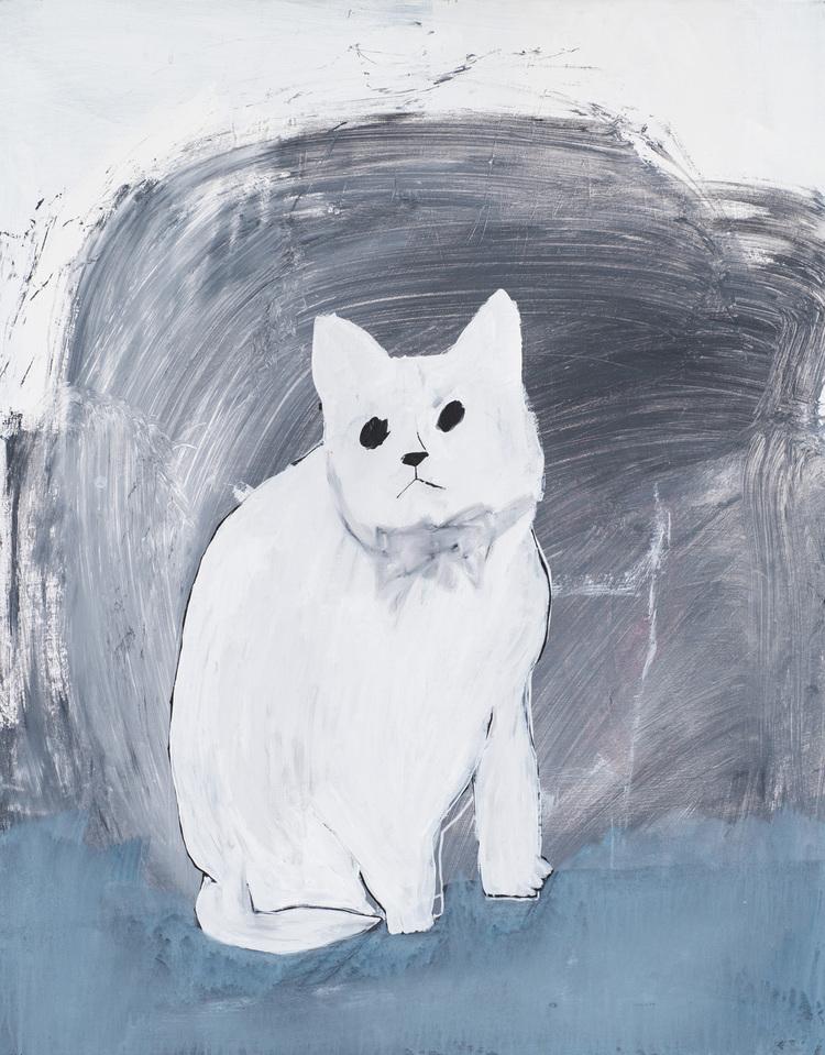 'Kit Cat', 2017, ett konstverk av Emilia Ilke
