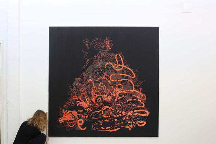 'Den otroliga högen', 2020, ett konstverk av Sofie Josefsson