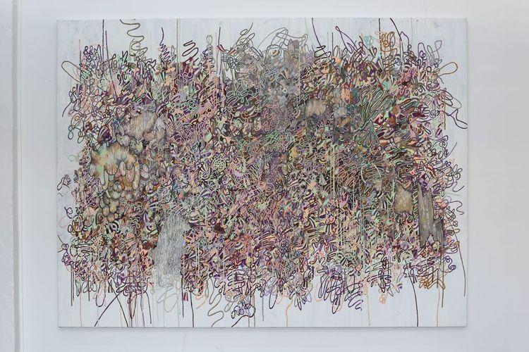 'Spår efter något som pågår', 2020, ett konstverk av Sofie Josefsson