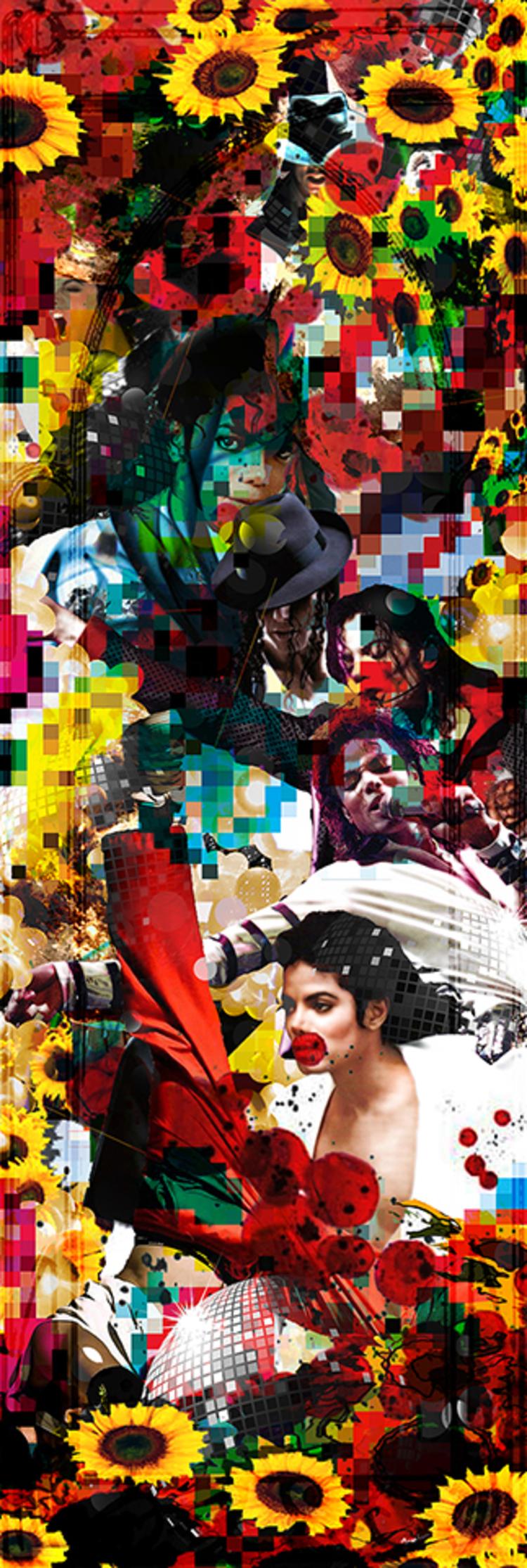 'Michael', 2015, ett konstverk av Per Josephson