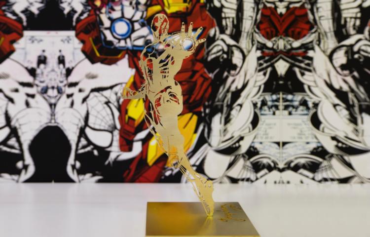 'Iron Man', 2017, ett konstverk av Per Josephson