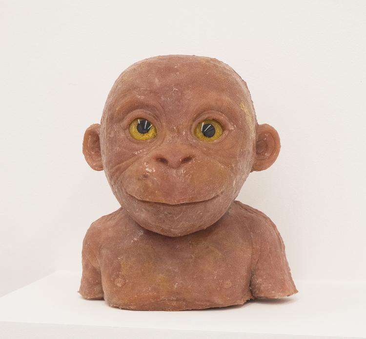 'Orangutangunge', 2017, ett konstverk av Hanna Beling