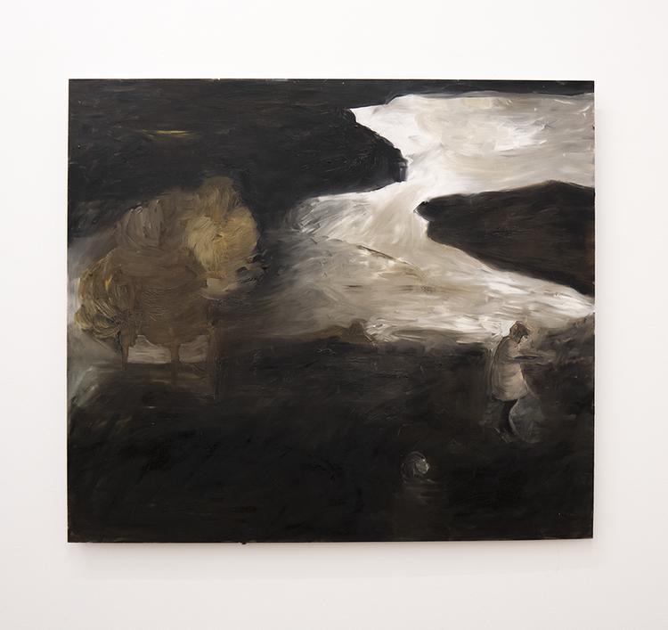 'In Between Peaks', 2017, ett konstverk av Karin Lind