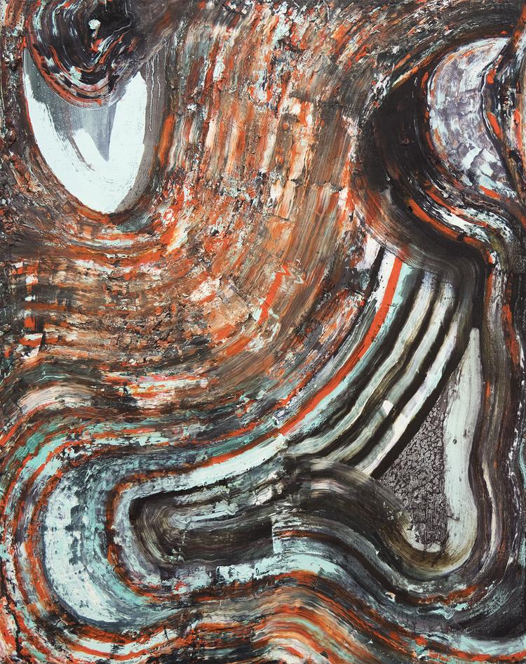'Milk Stone Mint', 2017, ett konstverk av Simon Gorm Andersen