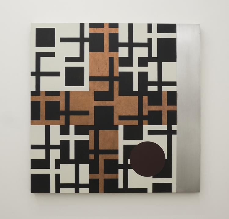 '42 V / V ', 2018, ett konstverk av Olle Borg