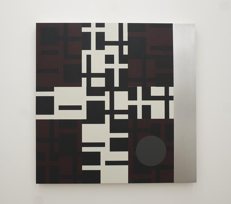 '54 IV / V ', 2018, ett konstverk av Olle Borg
