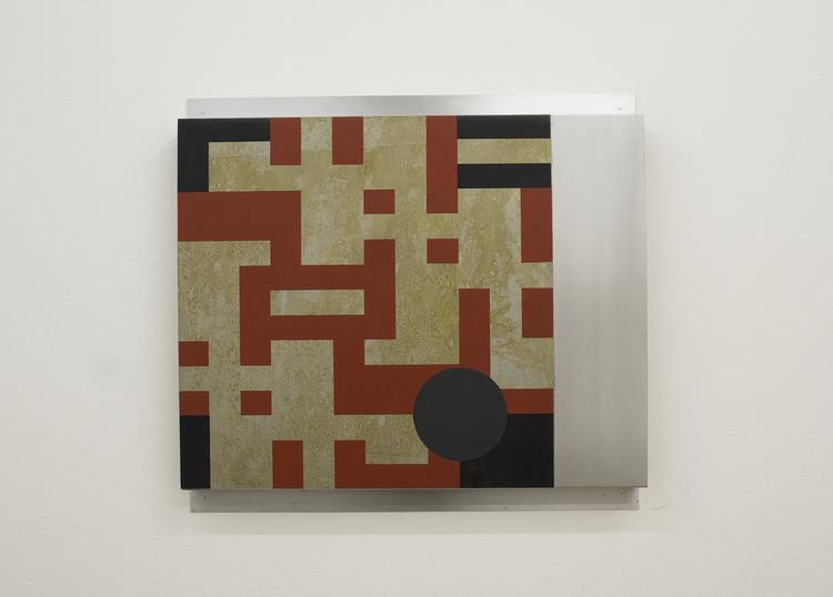 'IX IV / V ', 2018, ett konstverk av Olle Borg