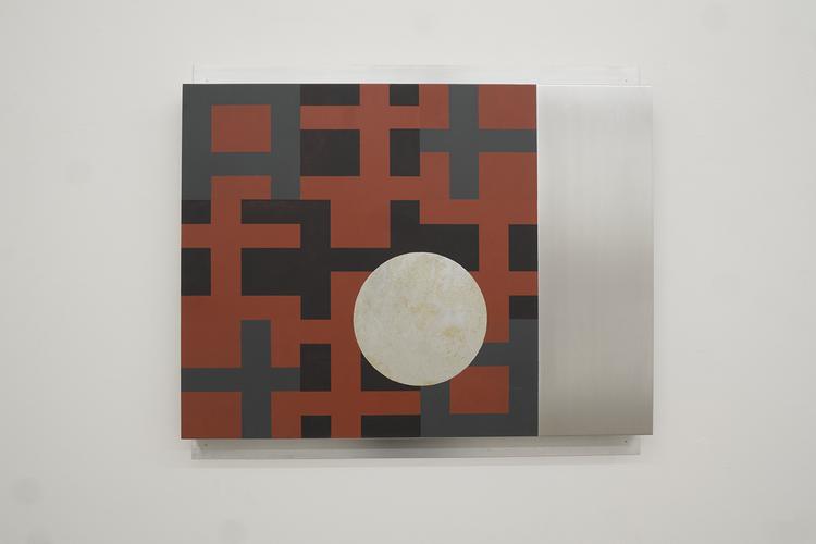 'XX III / III', 2018, ett konstverk av Olle Borg
