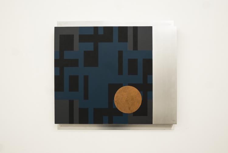 'XV IV / IV', 2018, ett konstverk av Olle Borg