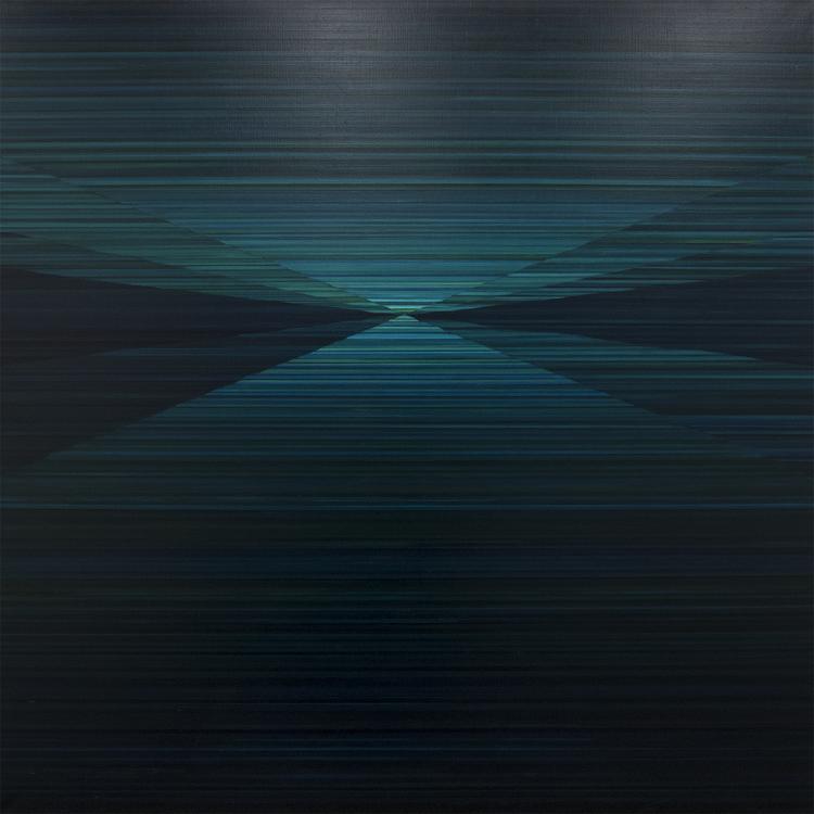 'Compas I', 2018, ett konstverk av Magnus Alexandersson