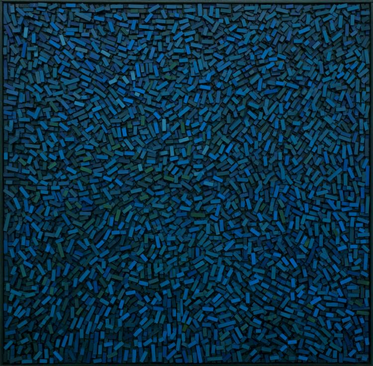 'Geography I', 2018, ett konstverk av Magnus Alexandersson