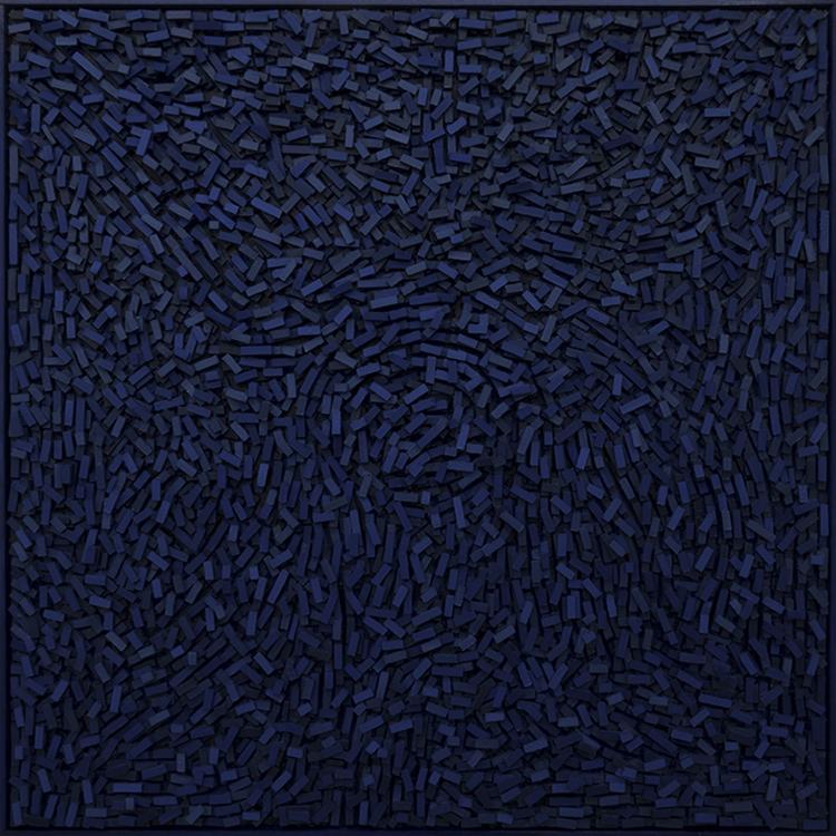 'Geography III', 2018, ett konstverk av Magnus Alexandersson