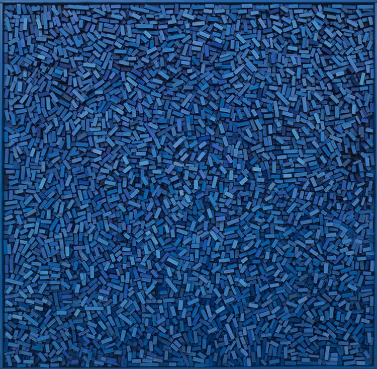 'Geography IV', 2018, ett konstverk av Magnus Alexandersson