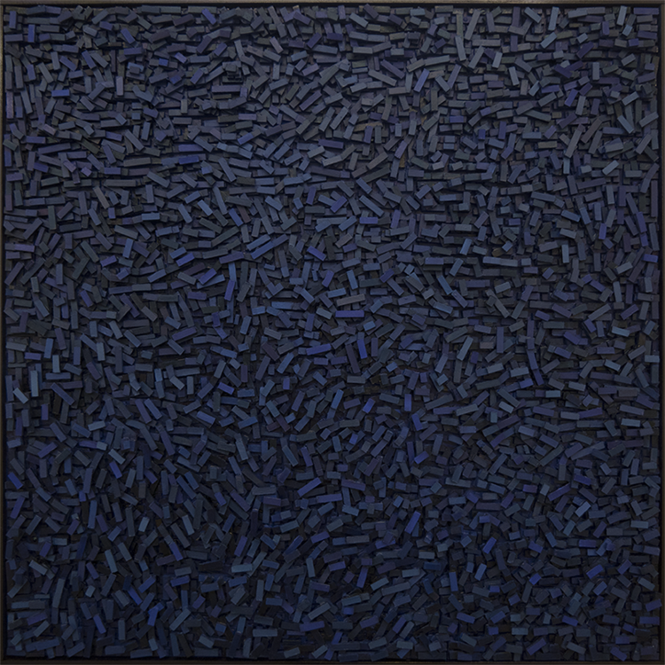 'Geography V', 2018, ett konstverk av Magnus Alexandersson