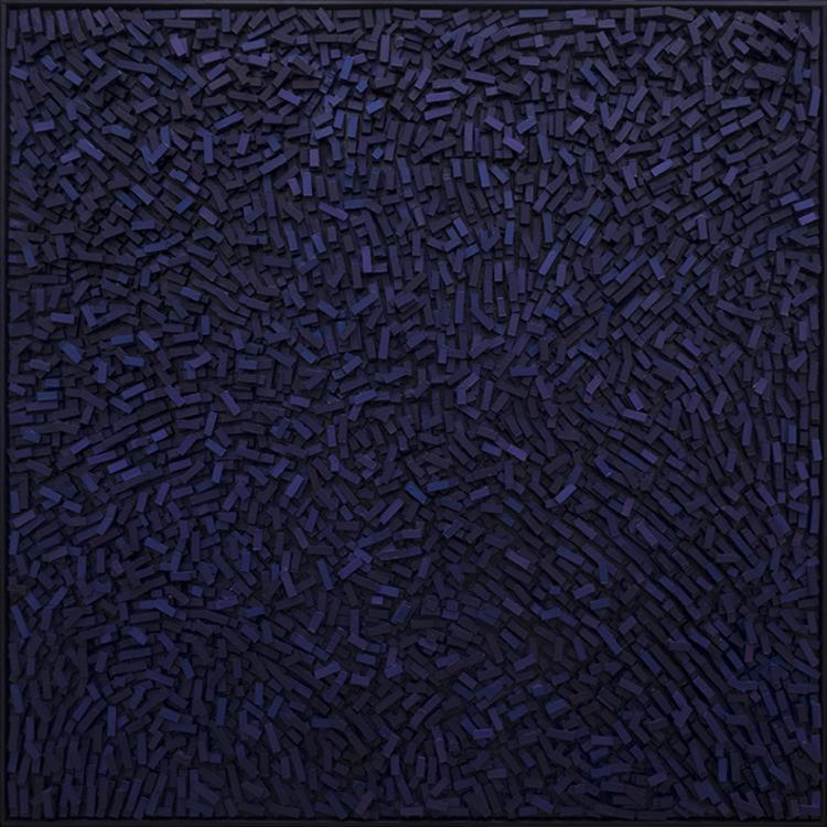 'Geography VI', 2018, ett konstverk av Magnus Alexandersson