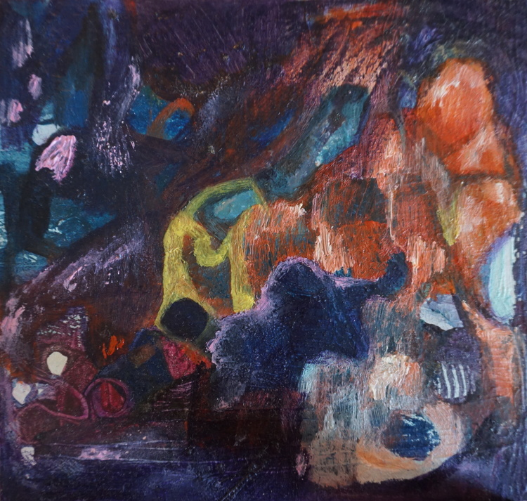 'Cave', 2017, ett konstverk av Anna Tedestam