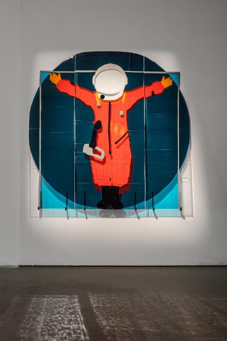 'I see no God up here', 2018, ett konstverk av Filippa Wikner