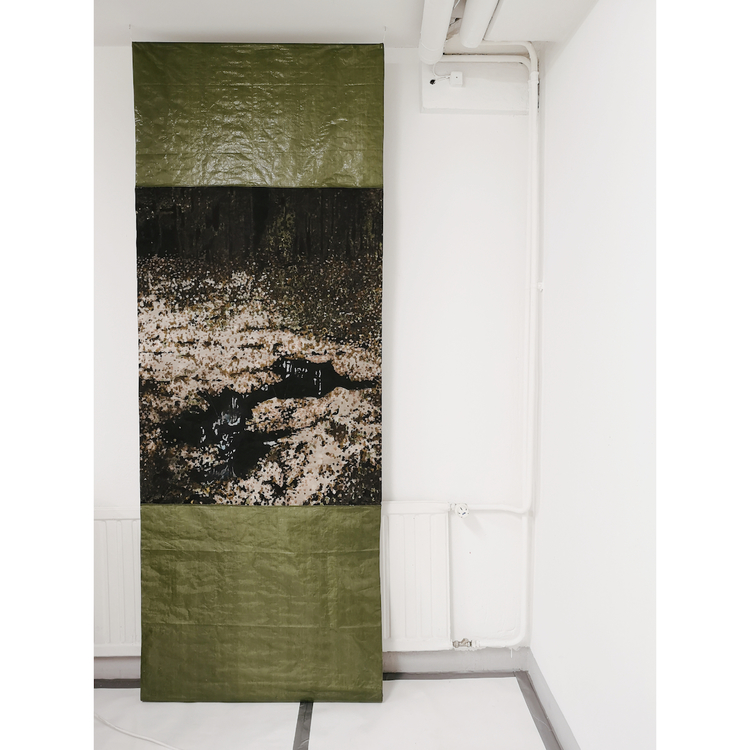 'Moor', 2017, ett konstverk av Sara Forsström