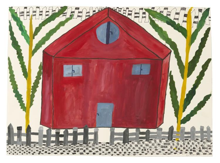 'Radhuset vid medelhavet', 2016, ett konstverk av Eva Kerek