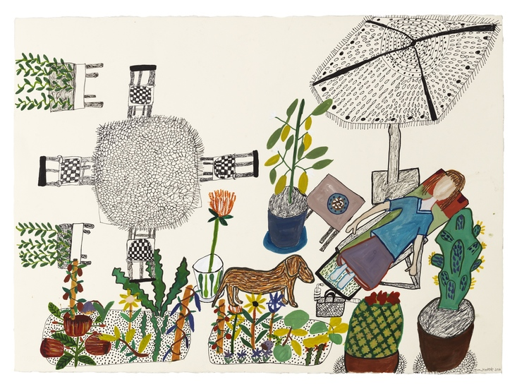'Kaktus', 2016, ett konstverk av Eva Kerek