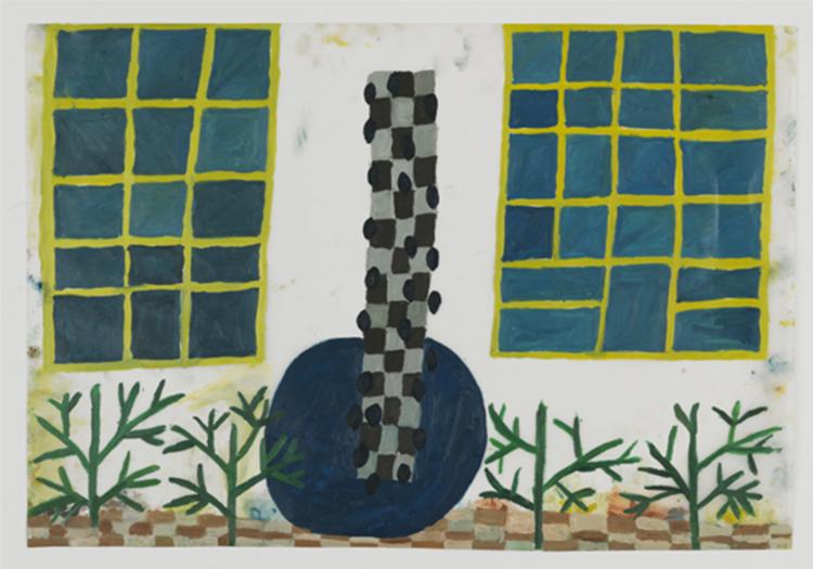 'Sergels torg', 2013, ett konstverk av Eva Kerek