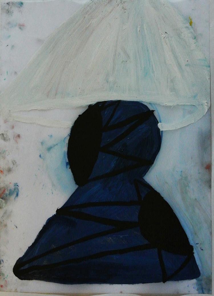 'Lampa', 2013, ett konstverk av Eva Kerek