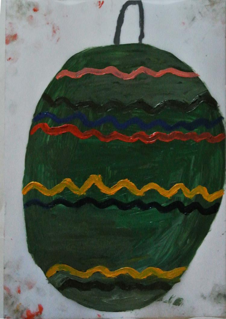 'Julkula', 2013, ett konstverk av Eva Kerek