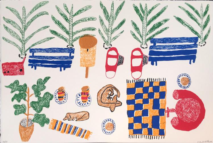 'Sommarledighet', ett konstverk av Eva Kerek