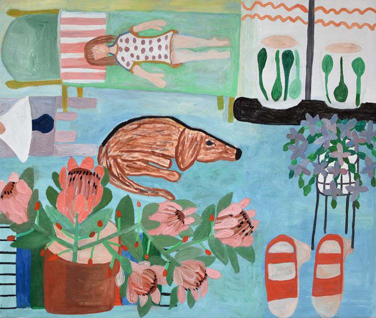 'Protea', 2015, ett konstverk av Eva Kerek