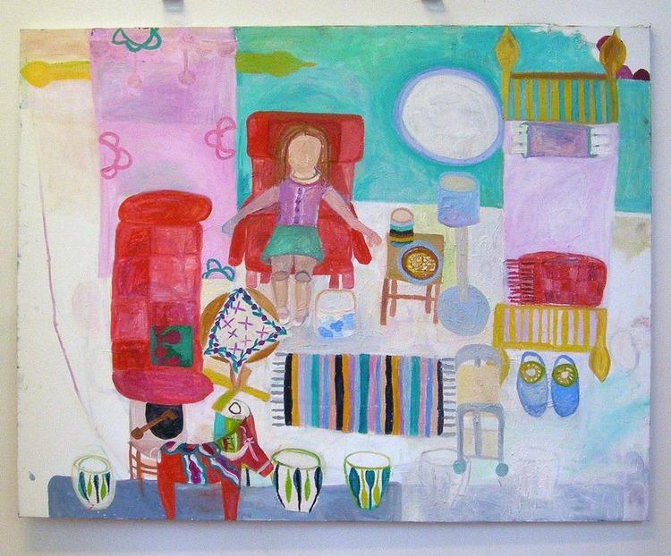 'Väntan', 2006, ett konstverk av Eva Kerek