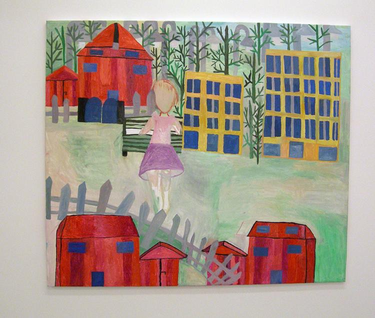 'Grönt', 2007, ett konstverk av Eva Kerek
