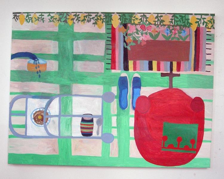 'Var är Hasse', 2011, ett konstverk av Eva Kerek